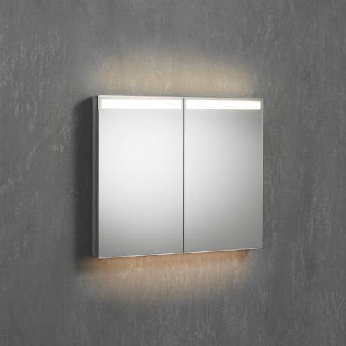 Durchgehende Spiegelfläche Sidler Cubango LED
