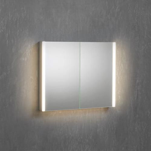 Lichtspiegelschrank seitliche Beleuchtung