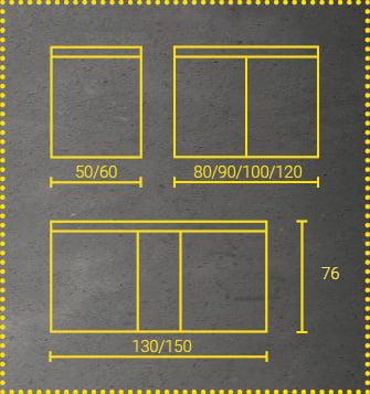 Sidler Lichtspiegelschrank Enexa Abmessungen
