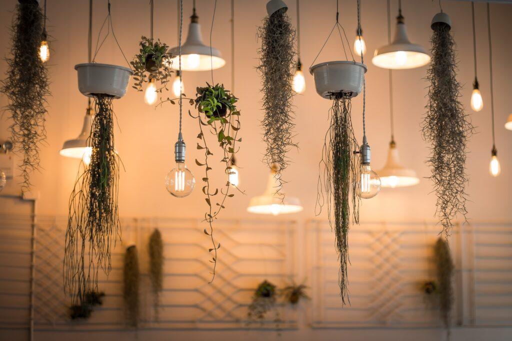 Licht in Räumen, künstliches Licht