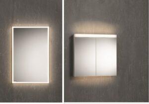 Unterputz-Spiegelschrank oder Aufputz-Spiegelschrank? Vor- und Nachteile